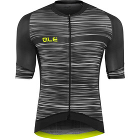 Alé Cycling Graphics PRR End Maillot Manga Corta Hombre, black-white